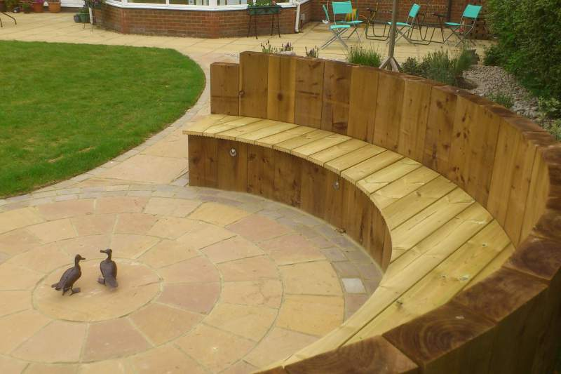Harpenden landscaping project Feel Good Gardens